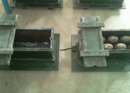 6 inches single block molds, hollow & silod