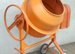 Electric Mixer, 180 liters or half bag of cement.china